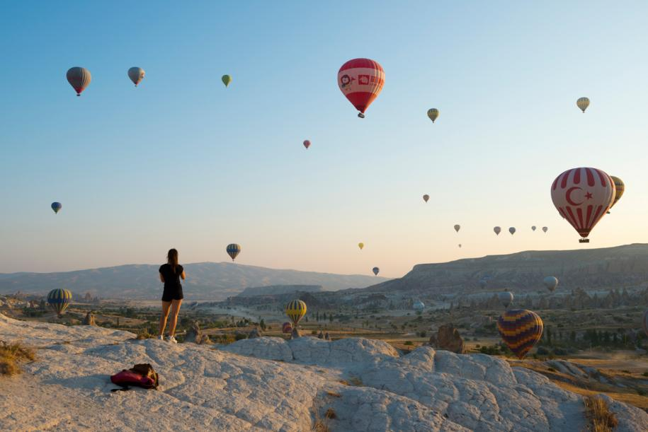 <p>Balloons in the morning&nbsp;</p>