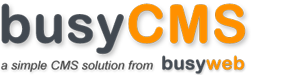 BusyCMS Content Management